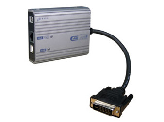 Rextron DVI Over LAN Supports 1080P