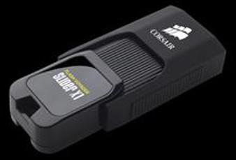 128GB Corsair USB 3.0 Flash Drive Voyager Slider X1, Capless Design, Plug and Play (Black)