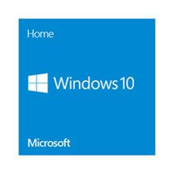 Microsoft Windows 10 Home 64-bit DVD disk