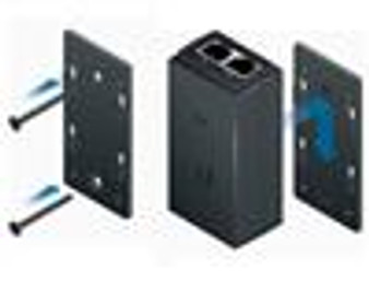 POE Wall Mount Accessory suits latest PoE adapters
