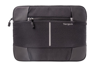 "Targus 12.1"" Bex II Laptop Sleeve - Black- Perfect for 12.5' Surface Pro 4 & 12.9' iPad Pro"