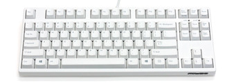 Majestouch 2 Filco White TenKey-less Pink switch mech keyboard