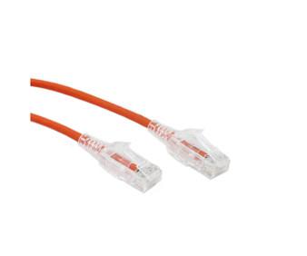1M Slim CAT6 UTP Patch Cable LSZH in Orange