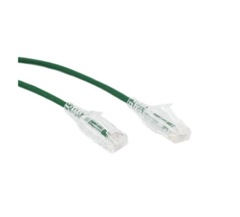 2M Slim CAT6 UTP Patch Cable LSZH in Green