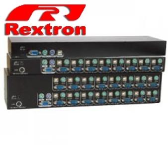 Rextron 16-Port PS/2  KVM Switch