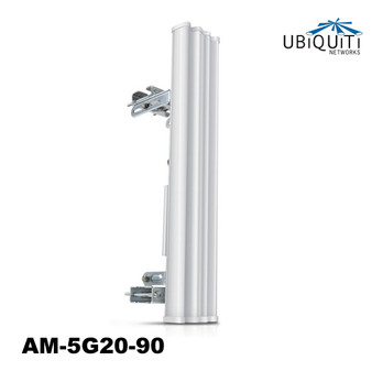 Ubiquiti 4.9-5.9GHz AirMax Base Station 20dBi, 90 deg w/ rocket kit