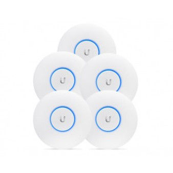 Ubiquiti UniFi AP AC 5 pack Long Range (PoE not included)