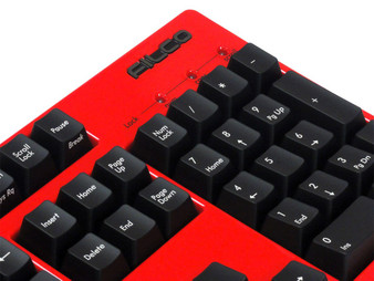 Filco KOBO Keyboard configurator, Italian Red coating