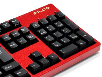 Filco KOBO Keyboard configurator, Red Lacquer Gold Flake