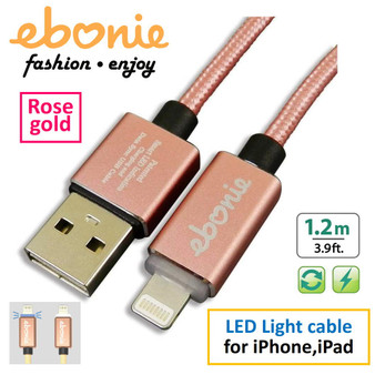Amber ELT-L02 Rose Gold  USB  A MALE TO LIGHTNING MALE MOBILE FAST CHARGE
