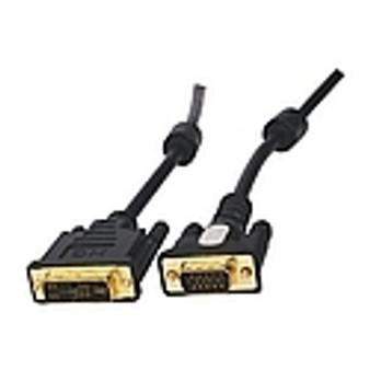 DVI-I  ( 24+ 5 ) PIN M, VGA M CABLE 1.8 M