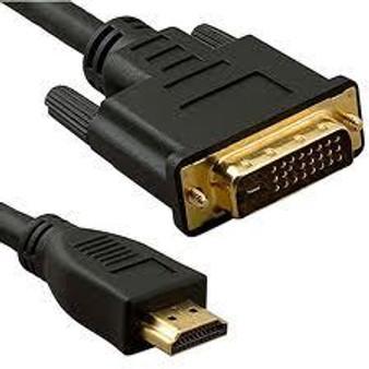 HDMI & DVI CABLE - 3 METRE