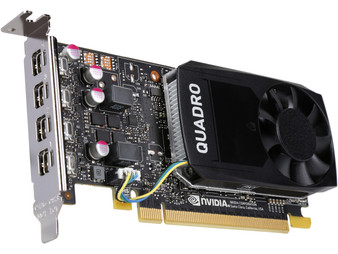 Asus nVidia Quadro P1000 PCIe Workstation Card 4GB DDR5 4xmDP 4x5120x2