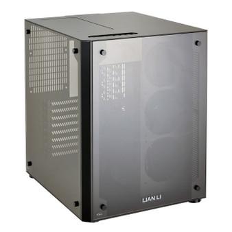 Lian Li PC-O8SWX ATX Cube Case - Black  Window, NO PSU