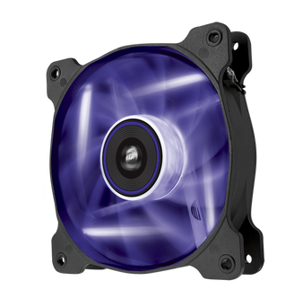 120mm Case Fan: Air Series SP120 LED Purple High Static Pressure 120mm