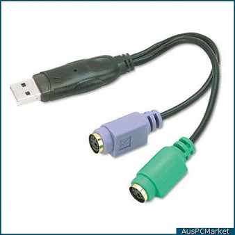 SKYMASTER USB TO PS2 CABLE