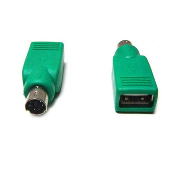 8Ware USB to PS2 Male Converter for Mouse Green