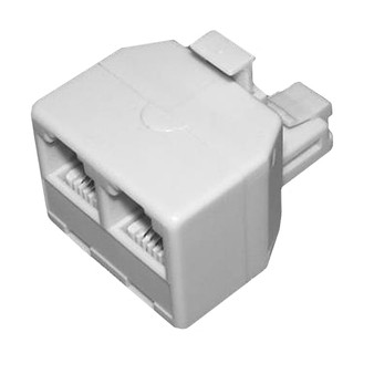 Access RJ11 Double Adapter 6P4C