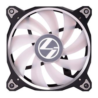 Lian Li Accessory BORAL120RGB-3B Bora Lite 120mm Fan RGB, 3 PCS, Black
