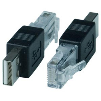 Adapter: USB2.0 AM (male) to RJ45 (male)