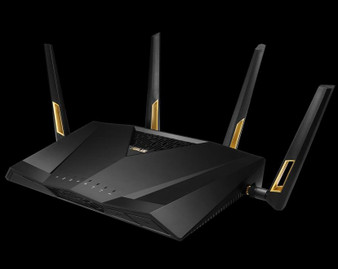 Wireless AX6000 (1148 + 4804)Mbps 4x4 Dual Band 802.11ax WiFi Router,