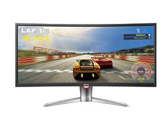 "35"" VA-LED HDMI/DisplayPort (Ultrawide 21:9) 2560x1080 Tilt Stand"