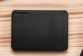 Toshiba 2TB CANVIO® BASICS PORTABLE HARD DRIVE STORAGE. 3 Years Warra