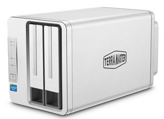 TerraMaster F2-220 2-Bay Dual-Core CPU 2GB Ram NAS