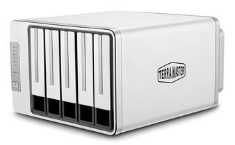 TerraMaster F5-221 5-Bay Dual-Core CPU 2GB Ram NAS