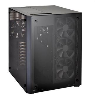 Lian Li PC-O8WX ATX Cube Case - Black  Window, NO PSU
