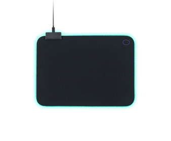 Mouse mat: MasterAccessory M750 RGB Soft Gaming Mousepad, M Size