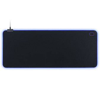 Mouse mat: MasterAccessory M750 RGB Soft Gaming Mousepad, XL Size