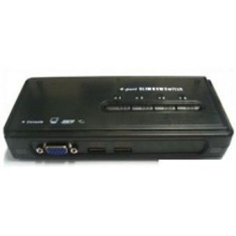 SKYMASTER 4 PORT USB KVM SWITCH AUDIO