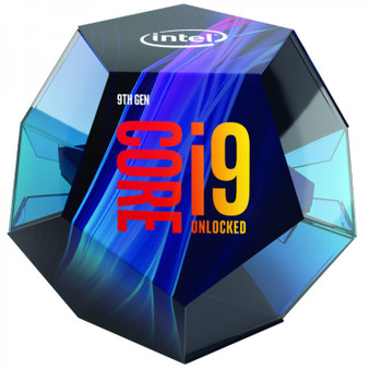 Intel Core i9-9900K 3.6Ghz No Fan Unlocked s1151 Coffee Lake 9th Generation Boxed 3 Years Warranty - SYSTEM BUILD ONLY