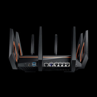 Router only: ROG Rapture AX11000 Tri-band WiFi 6 (802.11ax) Gaming