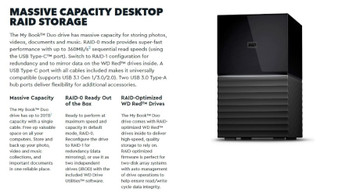 WD My Book Duo 12TB Desktop RAID External Hard Drive USB 3.1 Gen2