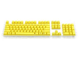 Filco Double-shot 104-Key keycap set for Majestouch 2 - Yellow