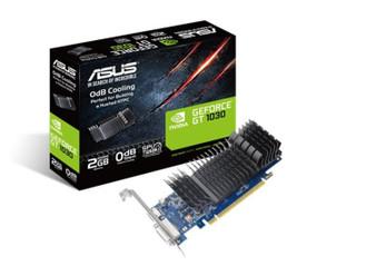 Asus nVidia GT1030-SL-2G-BRK PCIe Card GDDR5 8K 7680x4320 1xHDMI 1xDVI