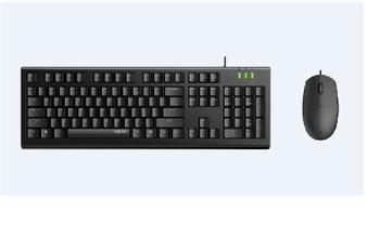 RAPOO X120pro  - Wired Keyboard and Mouse Combo Optical Combo Black