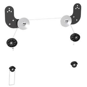 """Brateck Ultra Slim Wall Mount for LED & Thin LCD Screen Size 23' -"""" 60"""