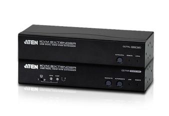 Aten USB Dual VGA Cat 5 KVM Extender (1600 x 1200@150m);1920 x 1200 @