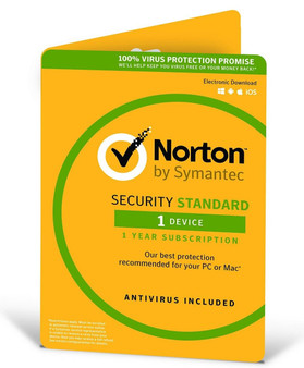 Norton Security  2018, 1  Device, 12 Months, PC, MAC, Android, iOS oem