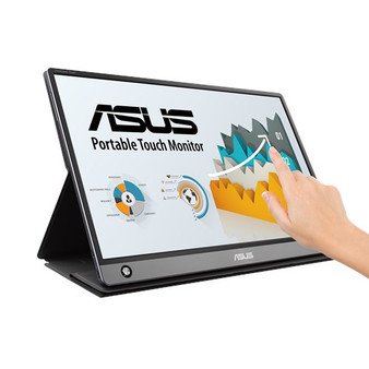ASUS ZenScreen Touch MB16AMT USB Portable Monitor — 15.6-inch, IPS, Fu