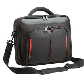 Targus 15.6' Classic + Clamshell Laptop case with file compartment