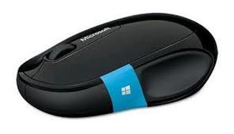 Microsoft Sculpt Comfort Black Bluetooth Mouse