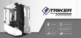 Antec STRIKER Open Frame Mini-ITX Aluminium and Steel Case, PCI-E Rise