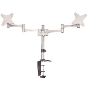 Astrotek Monitor Stand Desk Mount 43cm Arm for Dual Screens 13'-27' 8k