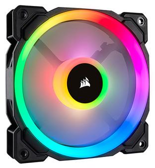 Corsair Light Loop Series, LL120 RGB, 120mm Dual Light Loop RGB LED PW