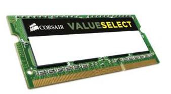 Corsair 8GB (1x8GB) DDR3L SODIMM 1600MHz 1.35V 9-9-9-24 204pin