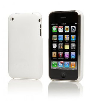 Cygnett Form White iPhone Case Fitted Hard Case Protec (LS)